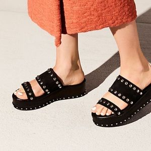 Free People Shoes Matisse Ringo Leather Western Thong